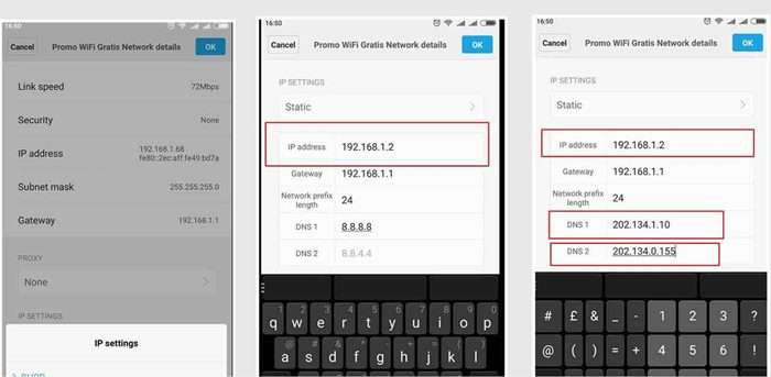 Cara Ganti IP Address Di HP Android