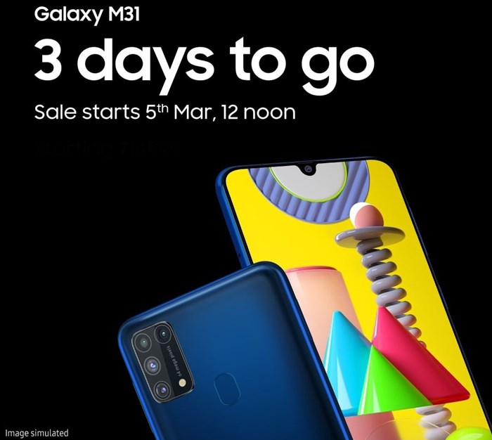 Samsung Galaxy M31 IGsamsungindia