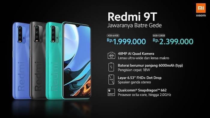 Spek Xiaomi Redmi 9T